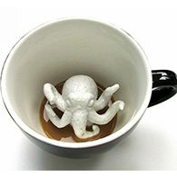 Кружки с животными внутри Creature Cups