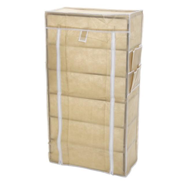 Купить тканевый шкаф для обуви Монтана бежевый 60 х 30 х 105 см