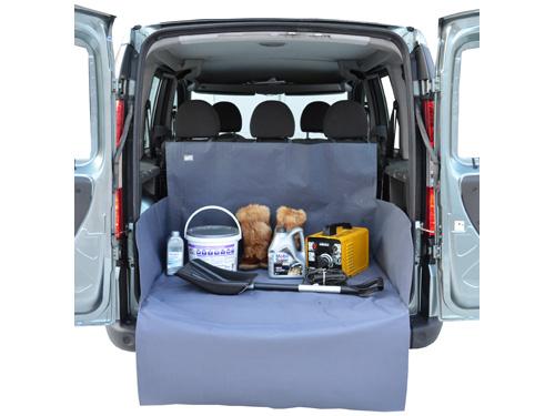 Защитная накидка в багажник XXL, серая, 100 х 120 х 40 см