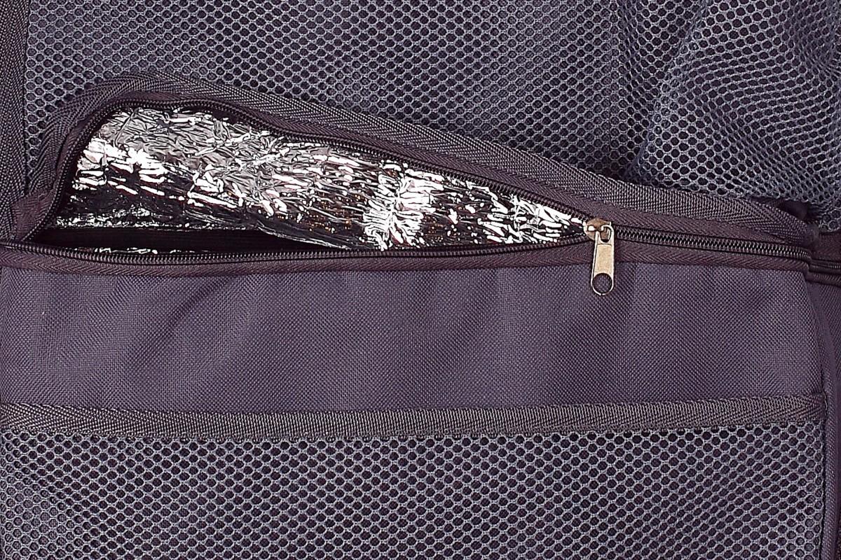 Органайзер на спинку переднего сиденья (холодильник), серый, 55 x 35 см