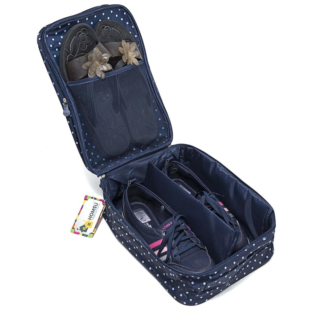 Органайзер для обуви, синий, 32 х 20 х 13 см