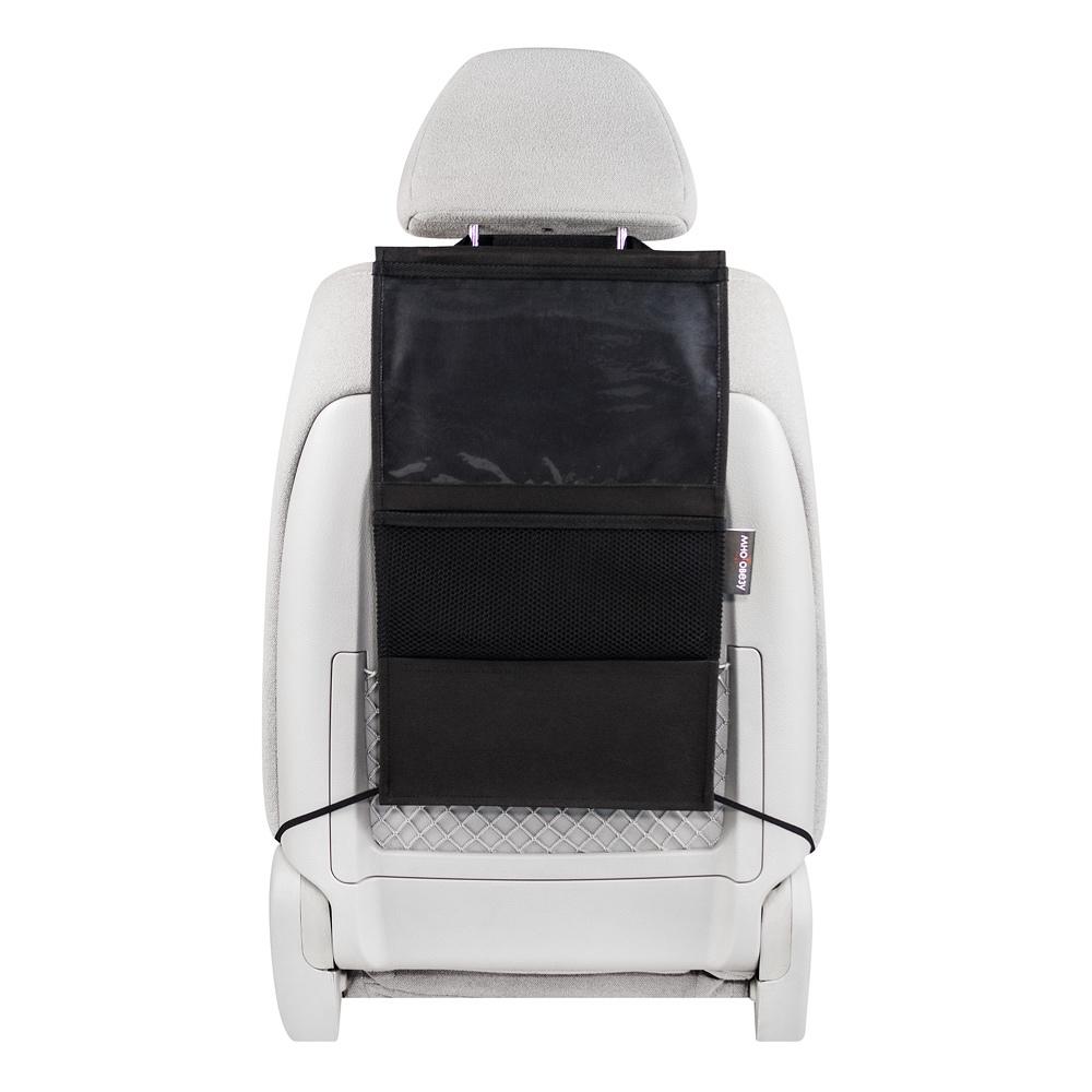 Органайзер для автомобильного сиденья с секцией под планшет, 49 x 30 см