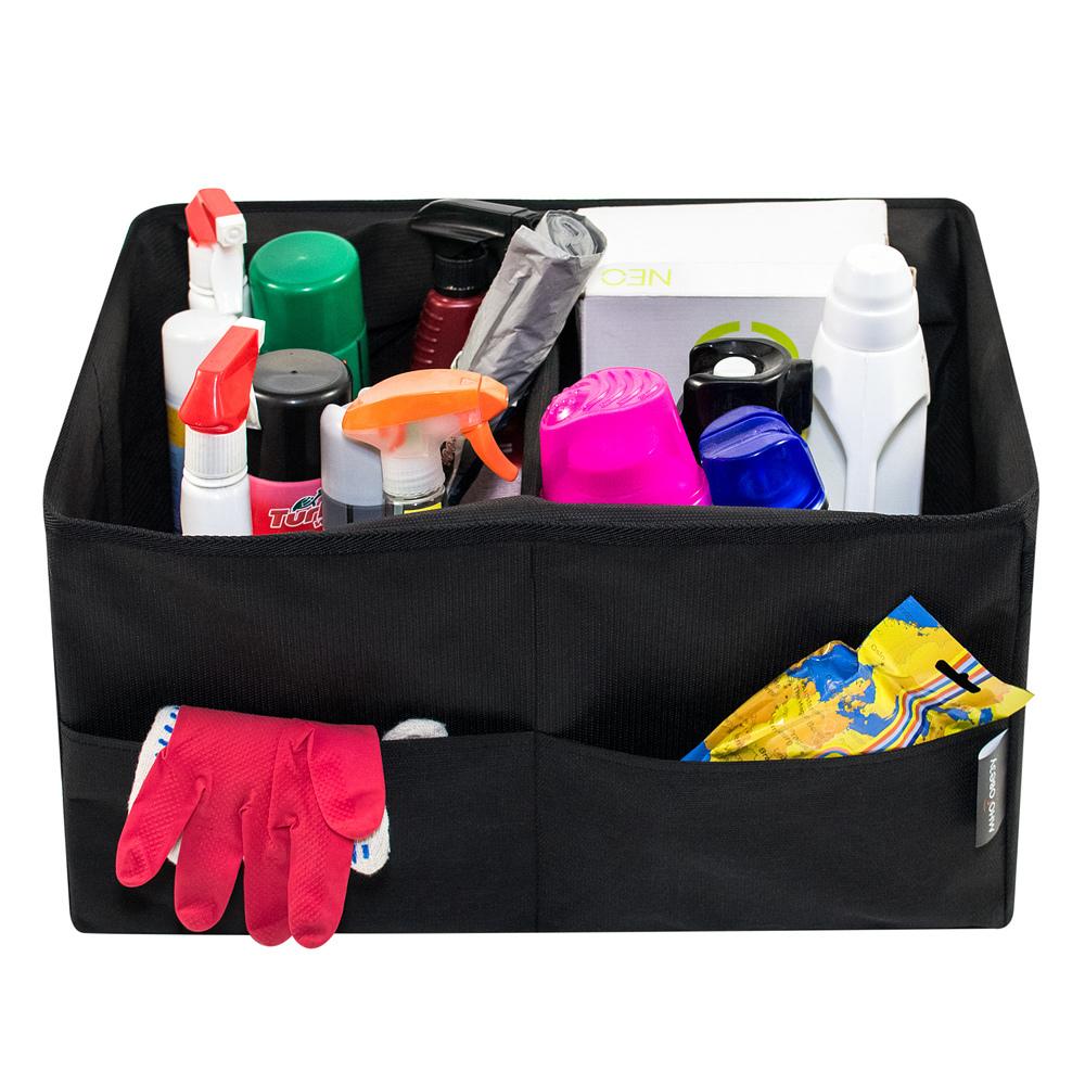 Органайзер для багажника, 2 секции с крышкой