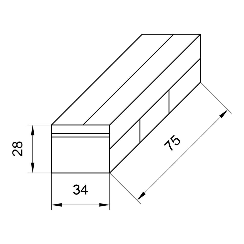 Органайзер для багажника, 3 секции с крышкой