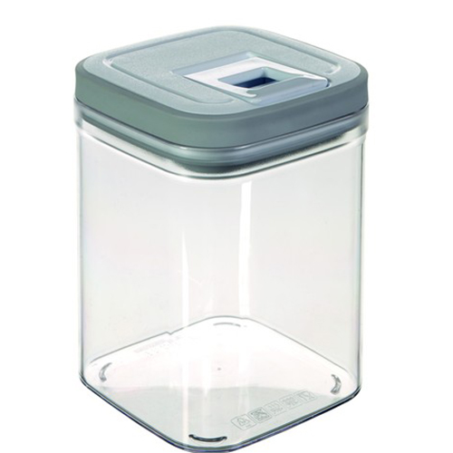Купить контейнер для сыпучих продуктов 1,3 л серый