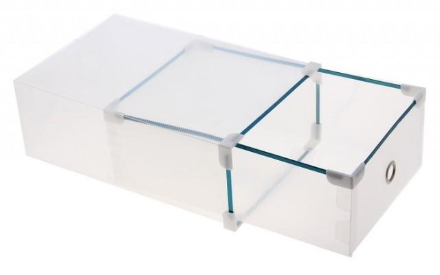 Коробка для обуви Melani, прозрачная