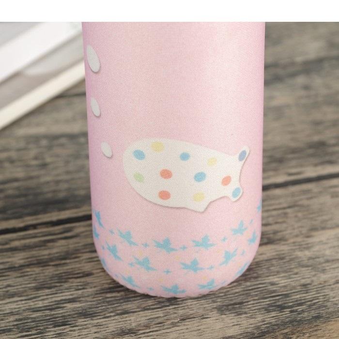 "Бутылочка для воды ""Маршмеллоу"", 0,3 л, 6 x 6 x 18 см"