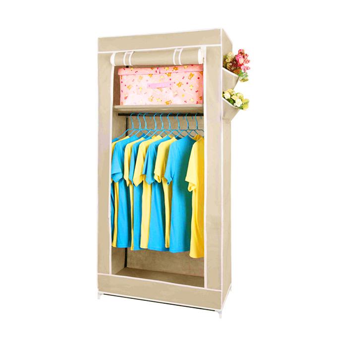 Купить тканевый шкаф Сингл бежевый