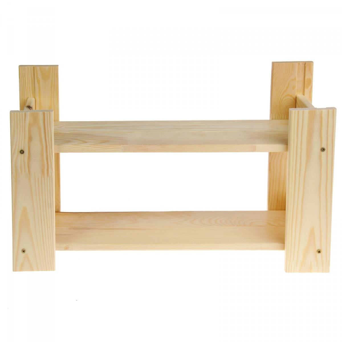Купить деревянные полки на стену 30 х 50 х 16,2 см
