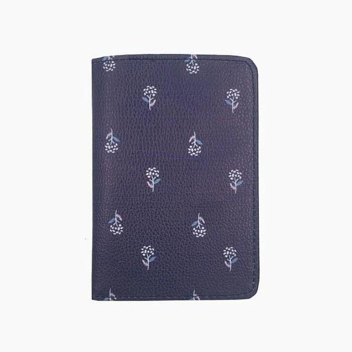 Купить обложку для документов Синий цветок