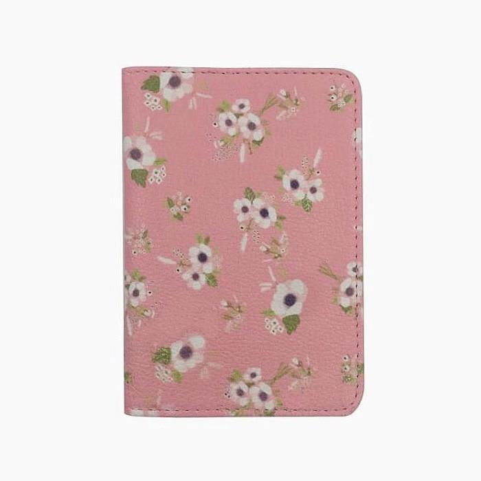 Купить обложку для документов Розовый цветок