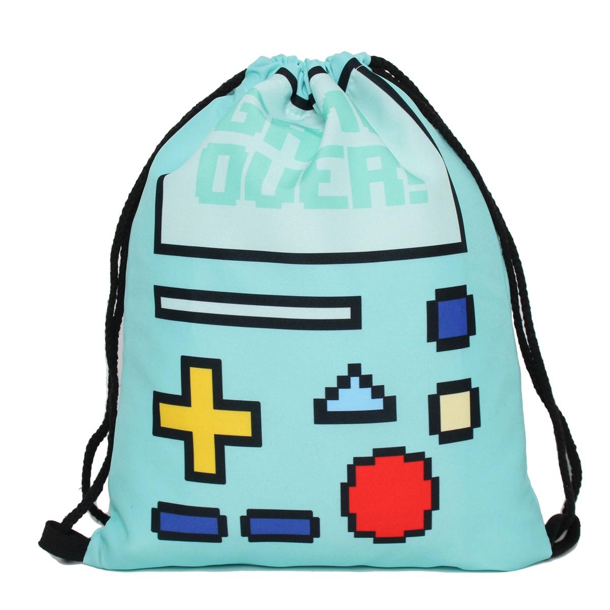 Купить сумку-мешок для сменной обуви Game Over
