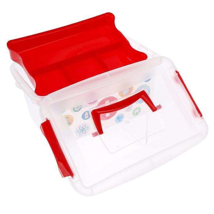 Купить контейнер-аптечку 4 л 30 х 14 х 18 см