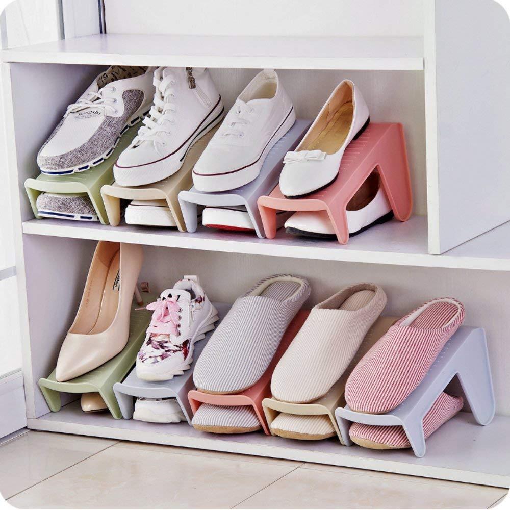 Подставка для обуви на одну пару, модель 2, зеленый, 25,5 х 10 х 13 см