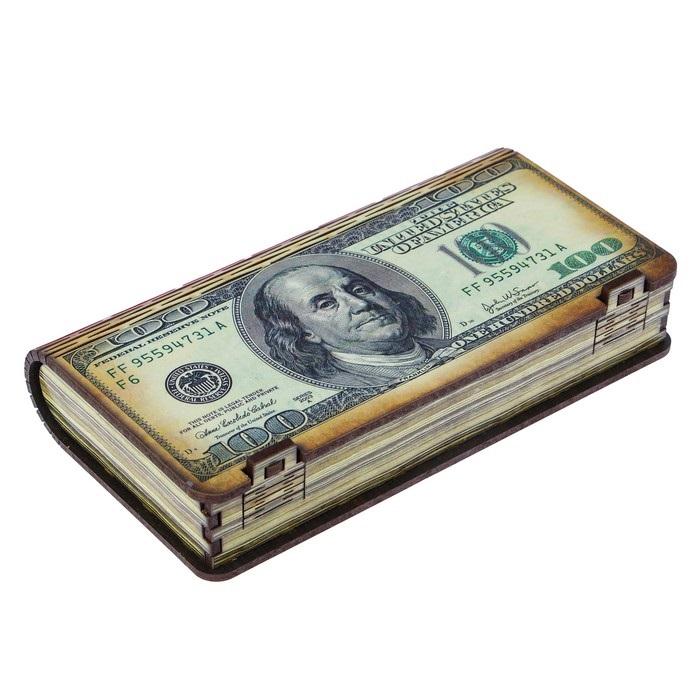 Купить шкатулку для денег и украшений Money 18 х 10 х 3 см