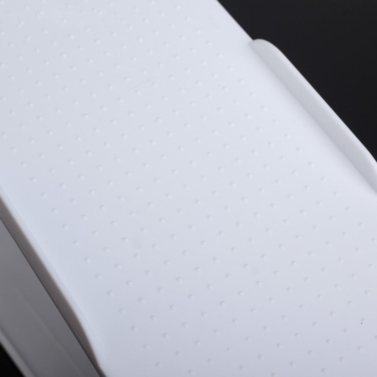 Комплект из подставок для обуви модель 1, белый, 20 шт, 25 х 9 х 10-18 см