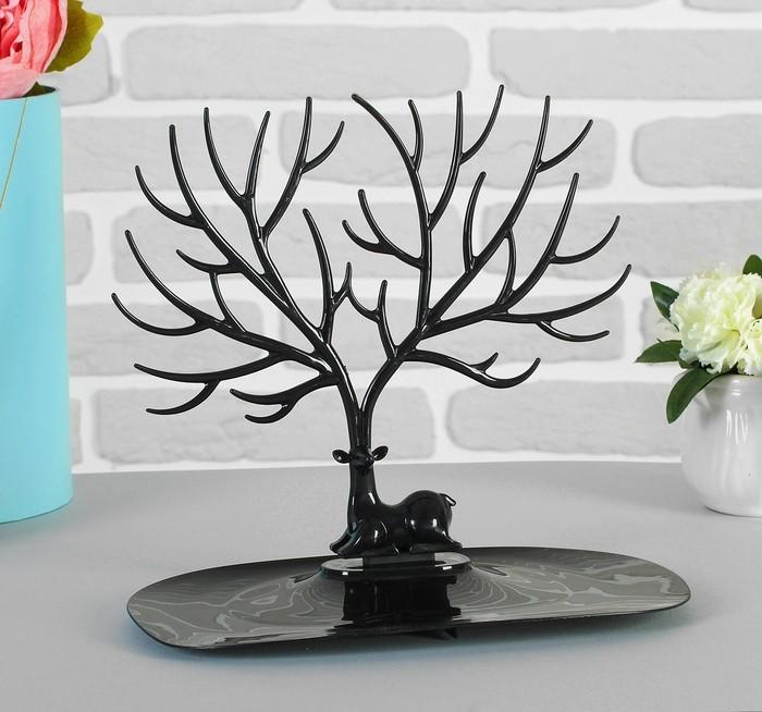 Купить подставку для украшений Дух леса черный