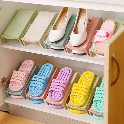 Комплект из 10 подставок для обуви на одну пару, модель 2, 25,5 х 10 х 13 см