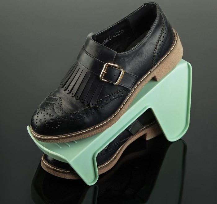 Комплект их 10 подставок для обуви на одну пару, модель 2, 25,5 х 10 х 13 см