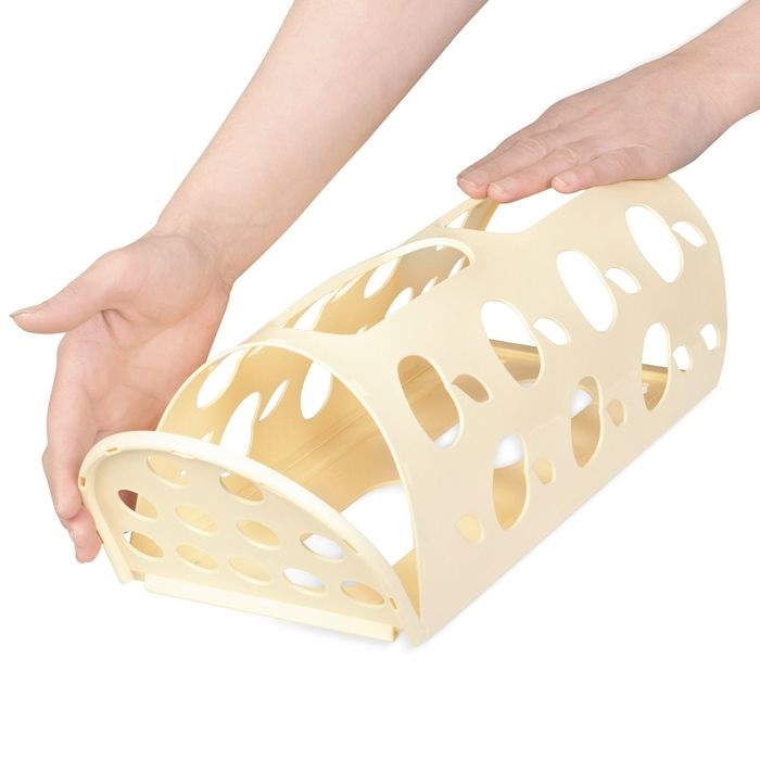 Купить корзину для пакетов Яблоко 16 х 13,5 х 37,5 см