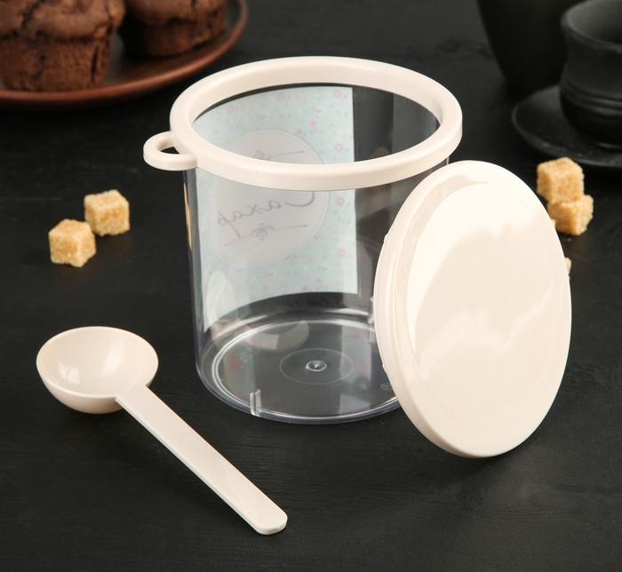 Контейнер для сыпучих продуктов, 700 мл, 11 х 11 х 12,3 см