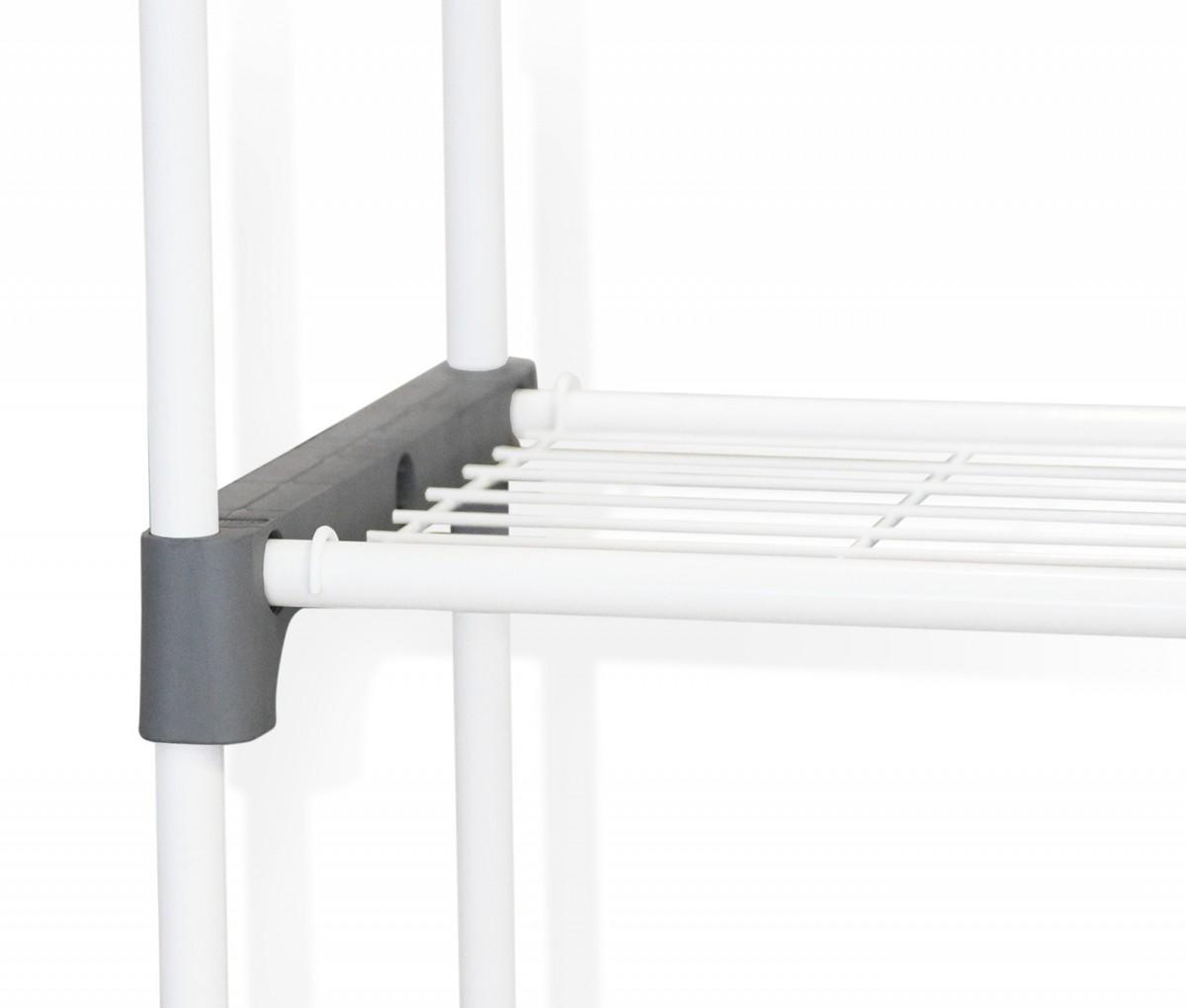 Купить Стеллаж для хранения, серый, 79 x 31 x 170,5 см