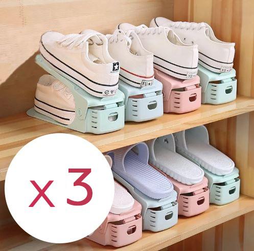 Купить Комплект из подставок для обуви модель 1, 3 штуки