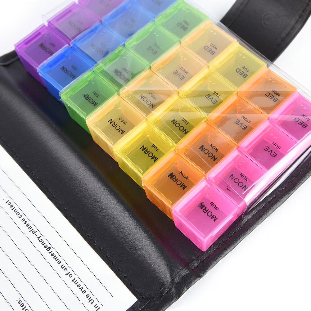 """Таблетница-органайзер для хранения лекарств """"Здоровье"""", 19,2 x 12,2 x 3,5 см"""