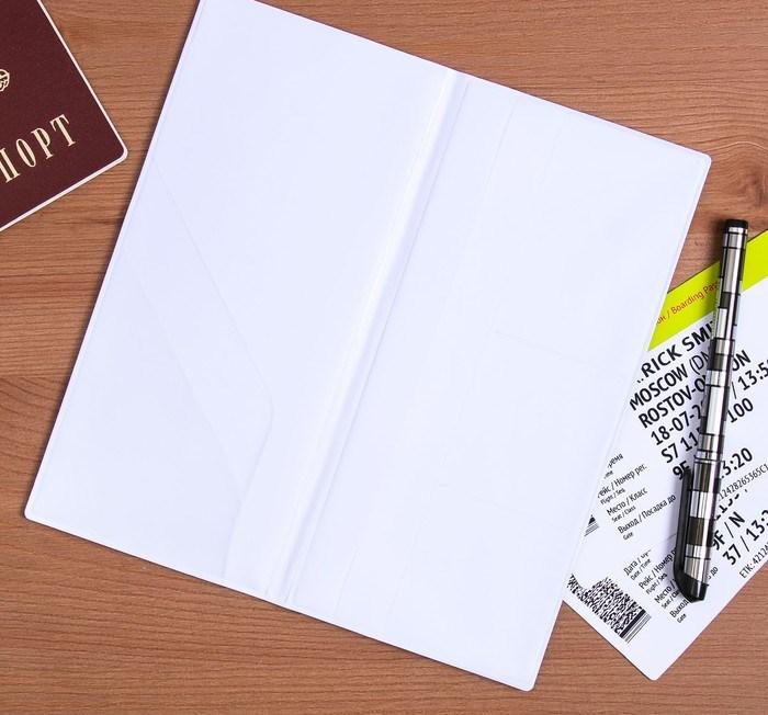 "Туристический конверт для документов ""Время приключений"", 21,8 х 11 х 0,5 см"