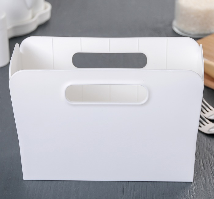 Многофункциональная подставка, белый, 19,9, х 8,3 х 13,8 см