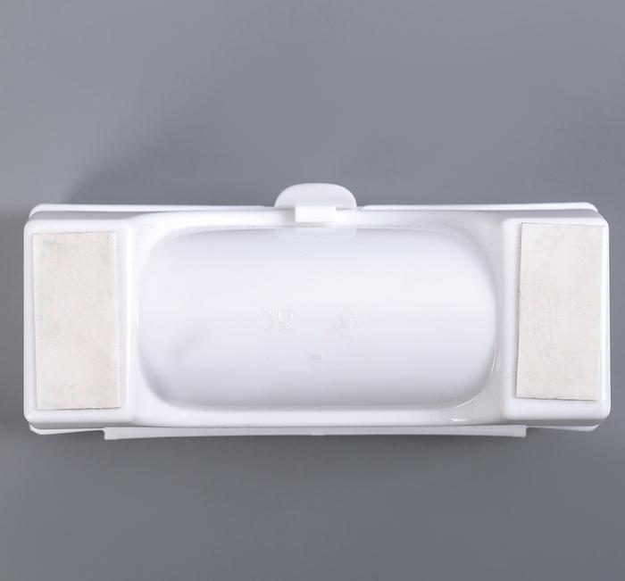 Купить органайзер для пакетов белый 18,5 х 5 х 15 см