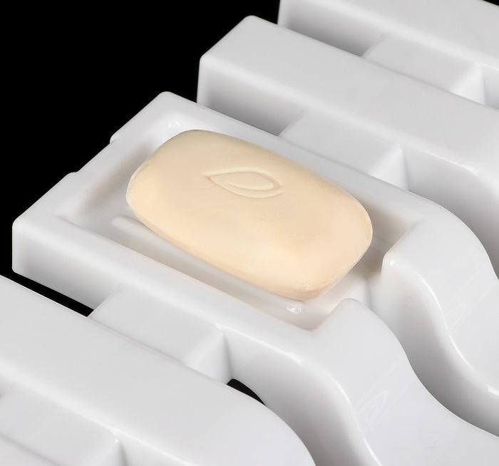 Купить Полка-сиденье для ванны, белый, 68 х 30 х 7 см