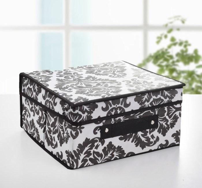 """Купить Коробка для хранения с крышкой """"Барокко"""", 30 х 28 х 15 см"""
