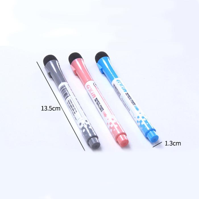 Маркер для магнитных досок, черный, 13,5 х 1,3 см