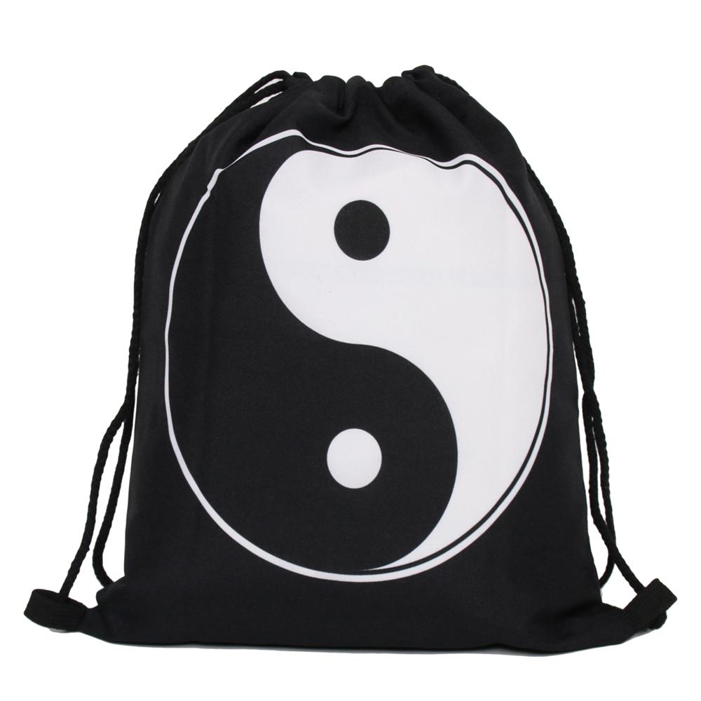 "Купить Сумка-мешок для сменной обуви ""Yin Yan"", 30 х 39 х 20 см"