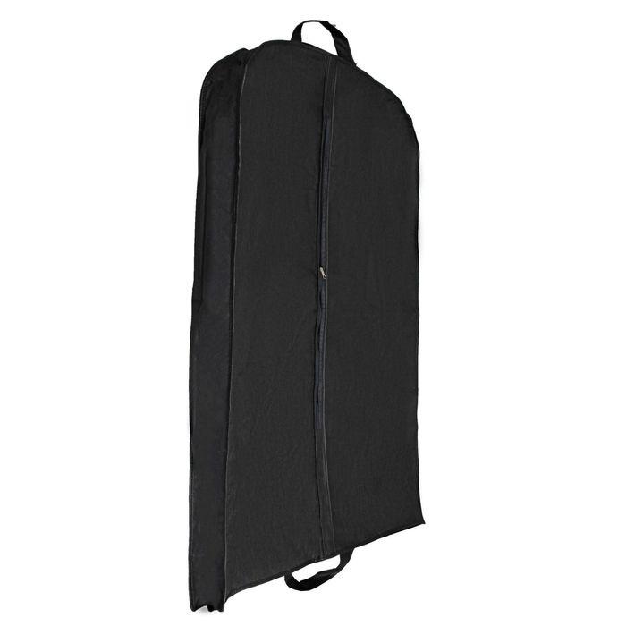 Купить чехол для одежды зимний черный 140 x 60 x 10 см