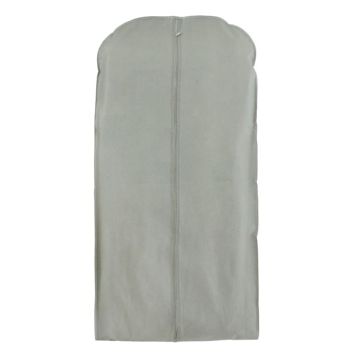 Купить чехол для одежды зимний серый 60 x 10 x 100 см