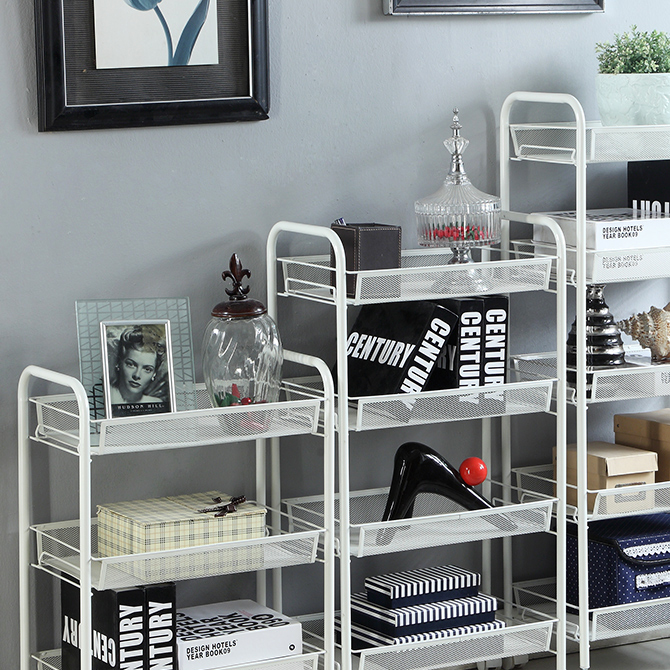 Купить этажерку Престиж 3 полки серый