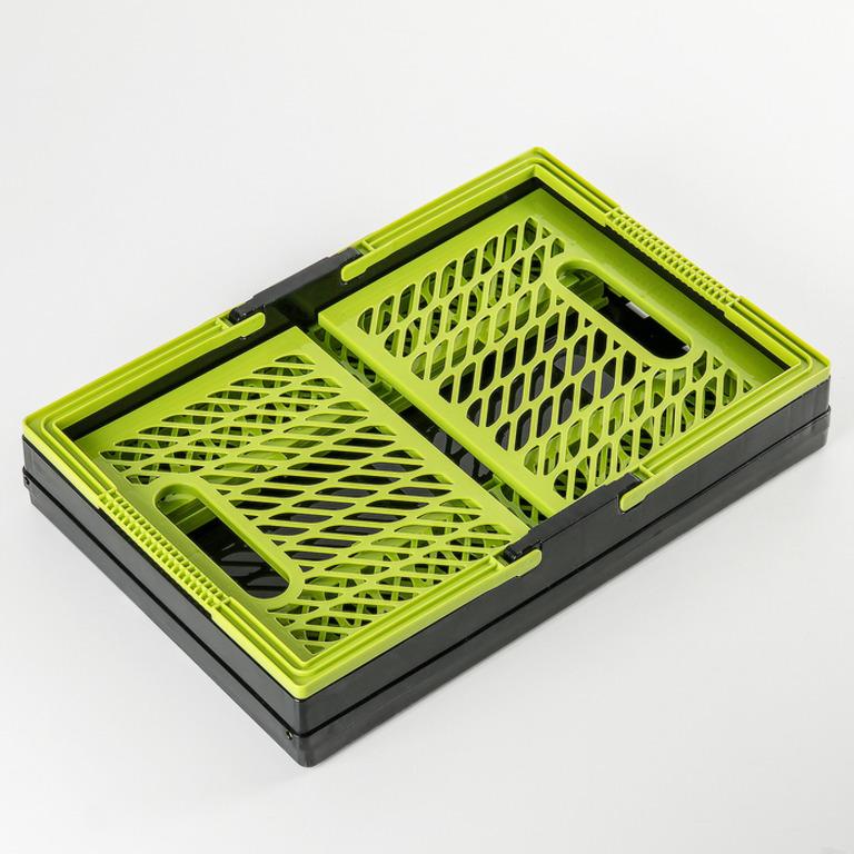 Купить корзину прямоугольную для овощей складную 15 л
