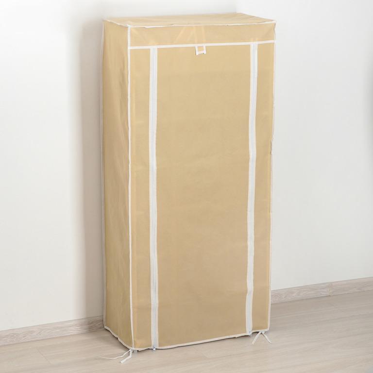 Купить тканевый шкаф для обуви Порту бежевый 60 х 30 х 120 см