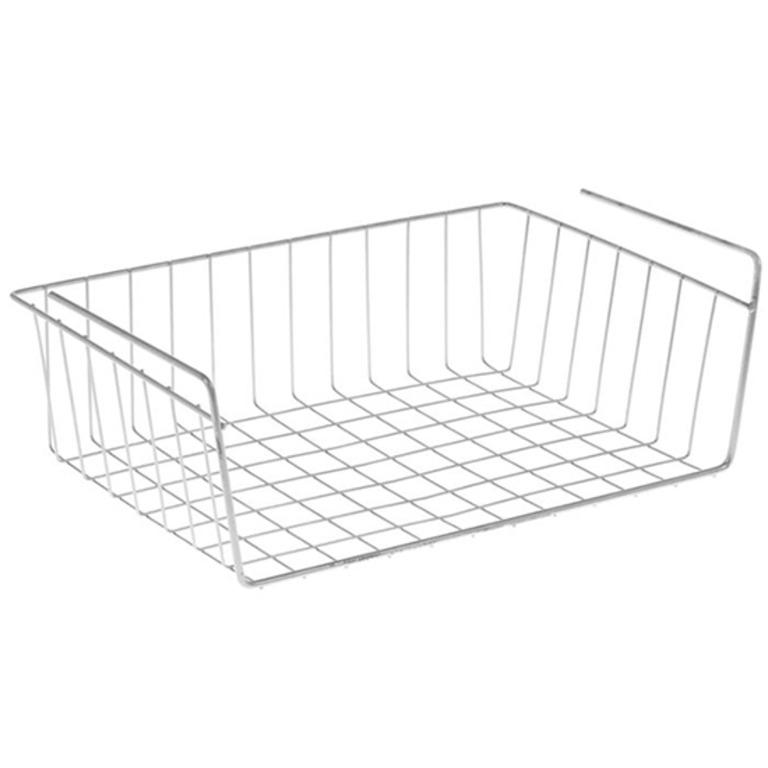 Купить комплект из трех подвесных полок для шкафа хром 40 x 26 x 14 см