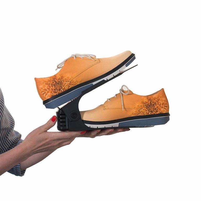 Купить комплект из подставок для обуви модель 1 черный 3 шт 25 х 9 х 10-18 см