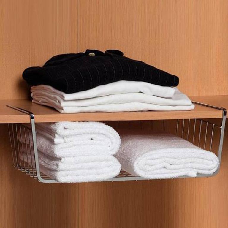 Купить комплект из трех полок для шкафа 40 x 26 x 14, 37-62 x 22 x 15 см
