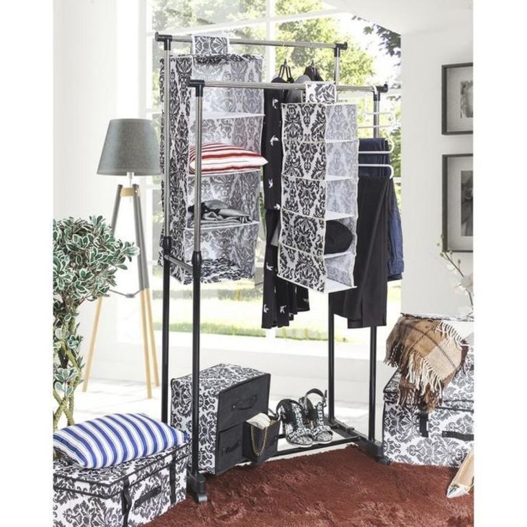 Купить подвесной органайзер Ар-Деко 5 полок 15 x 30 x 70 см
