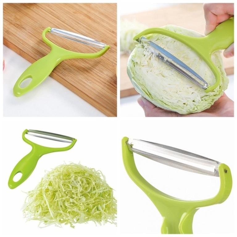 Купить шинковку для капусты зеленый 17,5 см