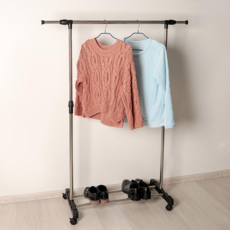 Купить стойку для одежды с подставкой для обуви