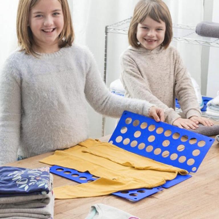 Купить приспособление для складывания детской одежды 42 x 36 см