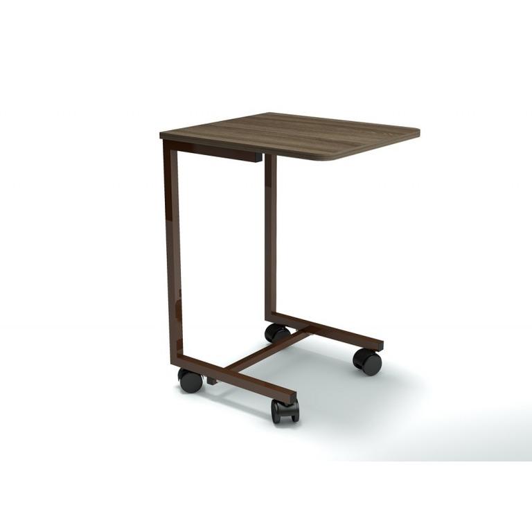 Купить столик мобильный Smart венге коричневый