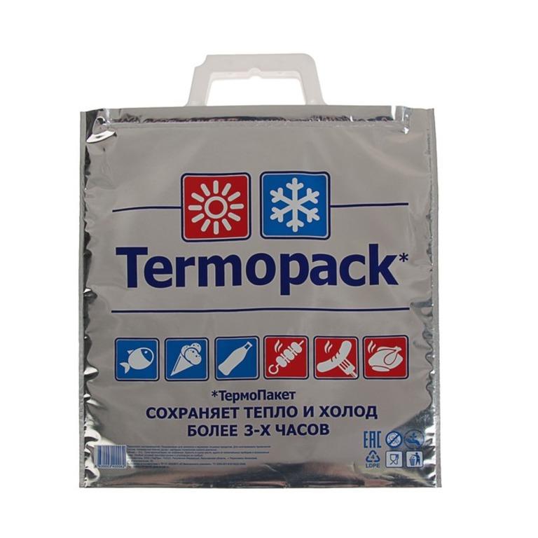 Купить термопакет двухслойный серебро 35 х 32 см