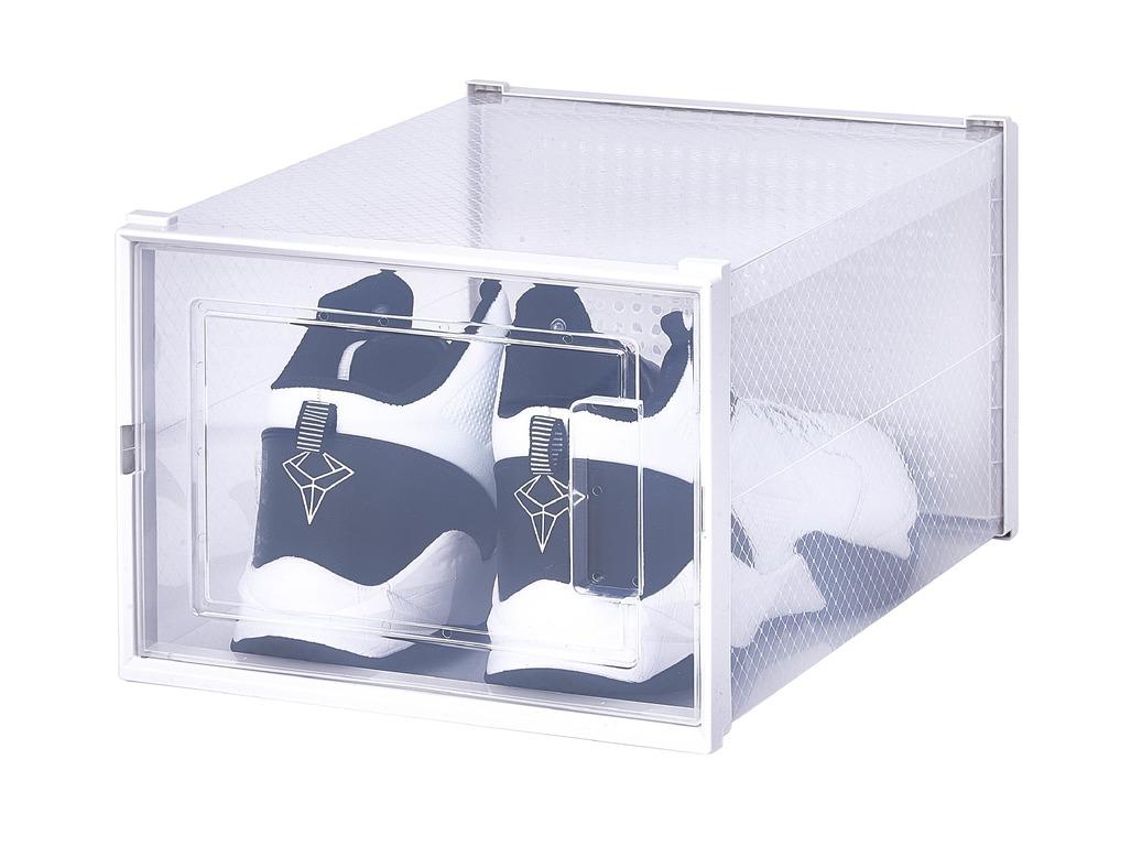 Купить коробку для хранения обуви Premium набор из 2 шт
